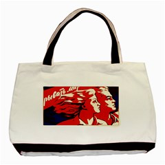 Communist Propaganda He And She  Classic Tote Bag by youshidesign