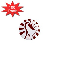 Fist Power 1  Mini Button Magnet (100 pack)
