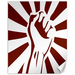 Fist Power Canvas 16  X 20  (unframed) by youshidesign