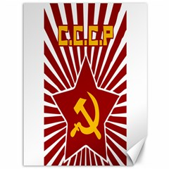 Hammer And Sickle Cccp Canvas 36  X 48  by youshidesign