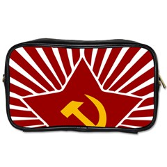 Hammer And Sickle Cccp Toiletries Bag (two Sides) by youshidesign