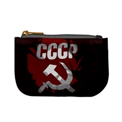 Cccp Soviet Union Flag Mini Coin Purse