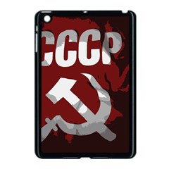 Cccp Soviet Union Flag Apple Ipad Mini Case (black)