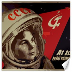 Soviet Union In Space Canvas 16  X 16  (unframed) by youshidesign