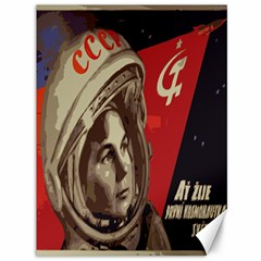 Soviet Union In Space Canvas 36  X 48  (unframed) by youshidesign