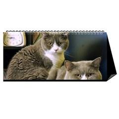Cat 2014 By Csumkwok   Desktop Calendar 11  X 5    K4nsvtmlvu40   Www Artscow Com Cover