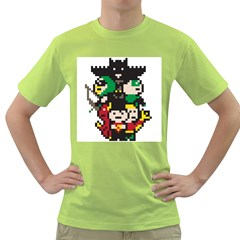 The League Mens  T Shirt (green) by DesignsbyReg