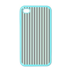 Light Green And Grey Strip Copy Apple iPhone 4 Case (Color)