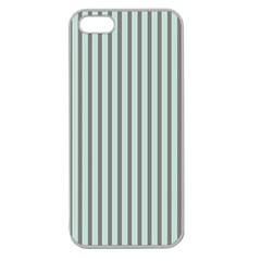 Light Green And Grey Strip Copy Apple Seamless Iphone 5 Case (clear)