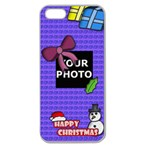 CHRISTMAS IPHONE 5 CASE - Apple Seamless iPhone 5 Case (Clear)