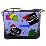 CHRISTMAS MESSENGER BAG