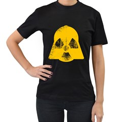 DANGER (Yellow) Womens' T-shirt (Black) by kreadid