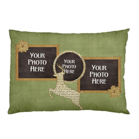 And To All A Good Night Pillowcase 1 By Lisa Minor   Pillow Case   6icnh6f1smr1   Www Artscow Com 26.62 x18.9 Pillow Case