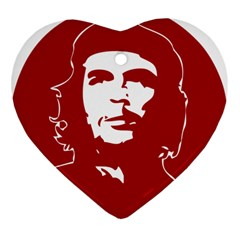 Chce Guevara, Che Chick Heart Ornament by youshidesign