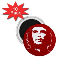 Chce Guevara, Che Chick 1 75  Button Magnet (10 Pack) by youshidesign