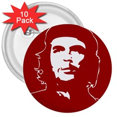 Chce Guevara, Che Chick 3  Button (10 Pack) by youshidesign