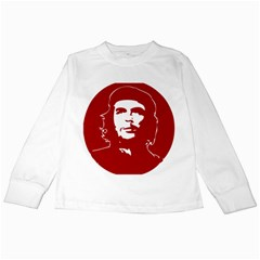 Chce Guevara, Che Chick Kids Long Sleeve T Shirt by youshidesign
