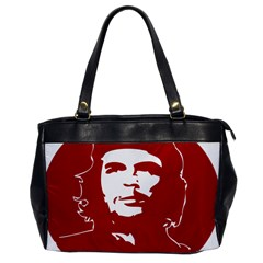 Chce Guevara, Che Chick Oversize Office Handbag (one Side) by youshidesign