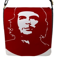Chce Guevara, Che Chick Flap Closure Messenger Bag (small) by youshidesign