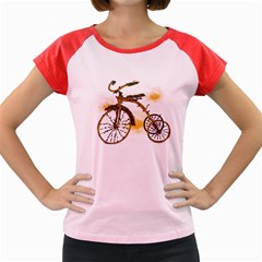 Tree Cycle Women s Cap Sleeve T-Shirt (Colored) by Contest1753604