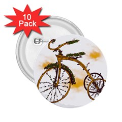 Tree Cycle 2 25  Button (10 Pack) by Contest1753604