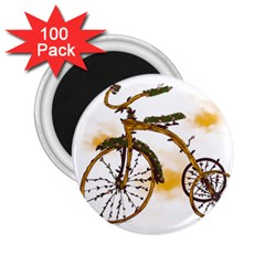 Tree Cycle 2 25  Button Magnet (100 Pack) by Contest1753604