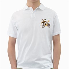 Tree Cycle Mens  Polo Shirt (white) by Contest1753604