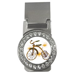Tree Cycle Money Clip (CZ) by Contest1753604
