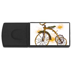 Tree Cycle 2GB USB Flash Drive (Rectangle) by Contest1753604