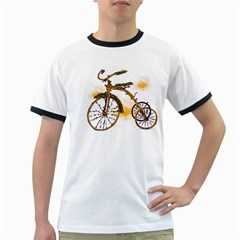 Tree Cycle Mens' Ringer T Shirt by Contest1753604