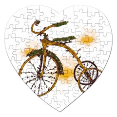 Tree Cycle Jigsaw Puzzle (heart) by Contest1753604