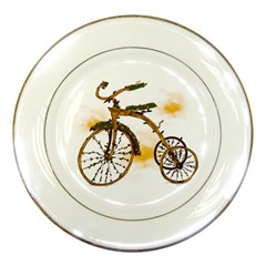 Tree Cycle Porcelain Display Plate by Contest1753604