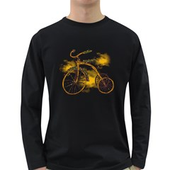 Tree Cycle Mens' Long Sleeve T Shirt (dark Colored) by Contest1753604