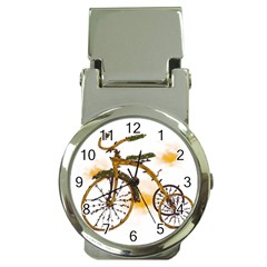Tree Cycle Money Clip With Watch by Contest1753604