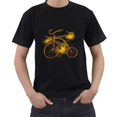Tree Cycle Mens' T Shirt (black) by Contest1753604