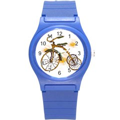 Tree Cycle Plastic Sport Watch (small) by Contest1753604