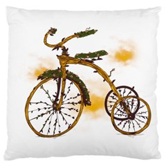 Tree Cycle Large Cushion Case (single Sided)  by Contest1753604