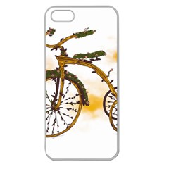 Tree Cycle Apple Seamless Iphone 5 Case (clear) by Contest1753604