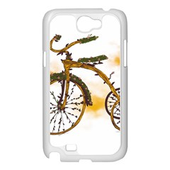 Tree Cycle Samsung Galaxy Note 2 Case (White) by Contest1753604