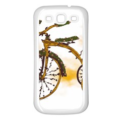 Tree Cycle Samsung Galaxy S3 Back Case (white) by Contest1753604