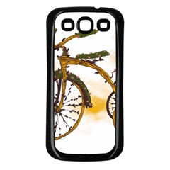 Tree Cycle Samsung Galaxy S3 Back Case (Black) by Contest1753604