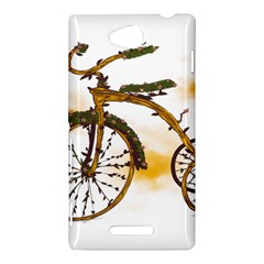 Tree Cycle Sony Xperia C (S39h) Hardshell Case by Contest1753604