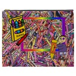 Crayon XXXL cosmetic bag - Cosmetic Bag (XXXL)