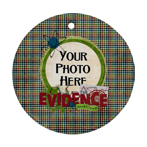 Learn Discover Explore Ornament By Lisa Minor   Ornament (round)   Zhr39i9ish58   Www Artscow Com Front