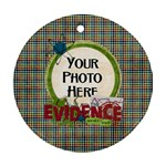 Learn Discover Explore Ornament - Ornament (Round)