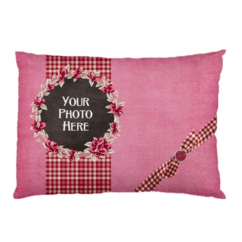 Sweetie Pillowcase  By Lisa Minor   Pillow Case   Pfkzwa7q2vsw   Www Artscow Com 26.62 x18.9 Pillow Case