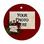 Together for the Holidays Ornament - Ornament (Round)