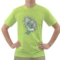 Mermaid Mens  T Shirt (green) by Contest1732250