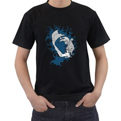 Mermaid Mens' Two Sided T Shirt (black) by Contest1732250