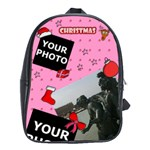 CHRISTMAS SCHOOL BAG - School Bag (Large)